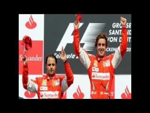 Alonso Wins German Grand Prix 2010