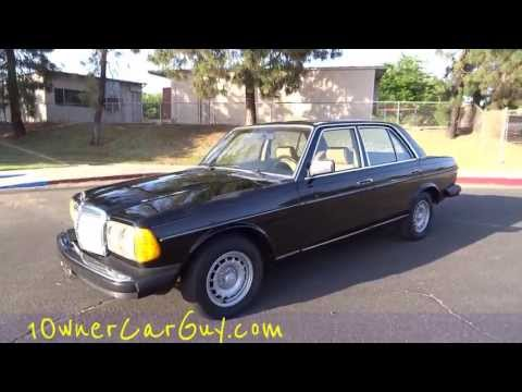 Mercedes Benz 300D W123 Diesel Sedan Bio Non Turbo For Sale 240D Youngtimer Video Review