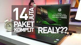 """Laptop Gaming terMURAH !!! """"NOT CLICKBAIT""""   Review HP Pavilion Gaming 15 - DK0042Tx"""