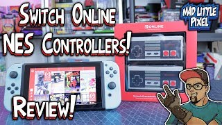 Nintendo Switch Online NES Controllers Review! These Have Issues! Compared To 8Bitdo GBros Adapter!