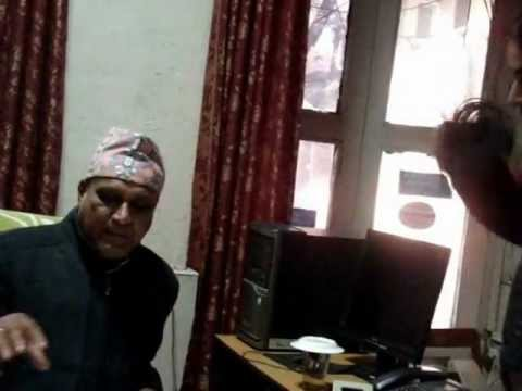 Bibeksheel Nepali helps a citizen demand accountability from Government's senior officers