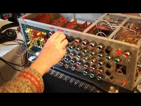 Trevor Pinch's DIY Modular Synth