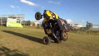 Can am 1000 Maverick Wheelie At www.loveday4x4adventures.com