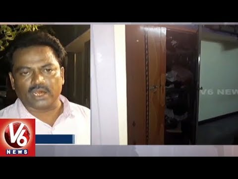 Thieves Rob House In Rajendra Nagar | Loots Rs. 22 Lakh | Hyderabad | V6 News