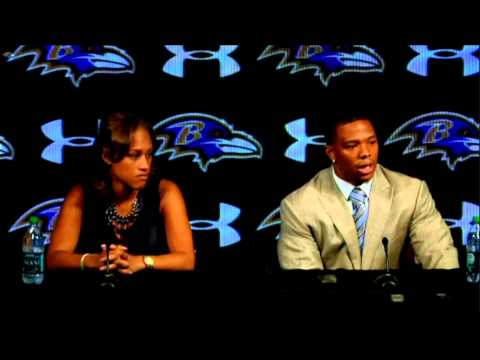 Ray Rice - Press Conference (May 23, 2014)