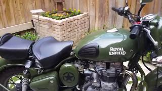 Royal Enfield Classic 500 green review
