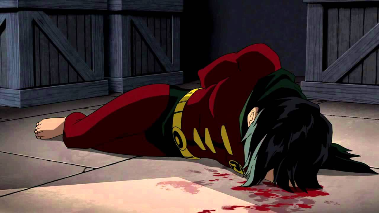 Batman: Under the Red Hood- Death of Jason Todd - YouTube