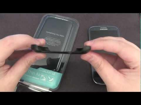 SGP / Spigen Ultra Thin Air for Samsung Galaxy S3 Case Review