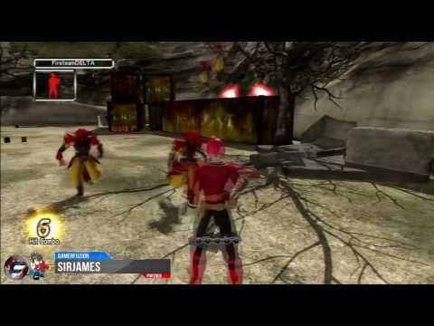Power Rangers Super Samurai Kinect Walkthrough Part 1
