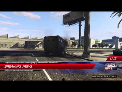 Grand Theft Auto V Online - Scripterbot on Weazel News
