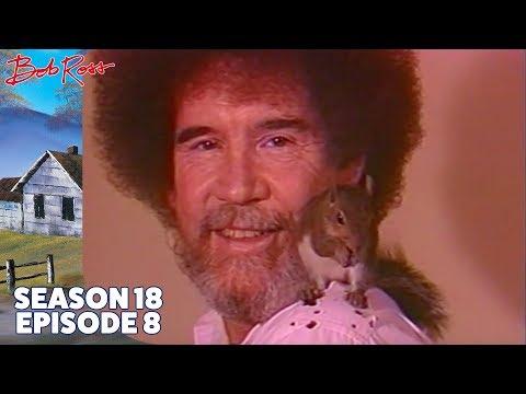Bob Ross - Winter Lace (Season 18 Episode 8)