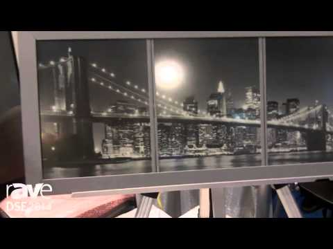 DSE 2014: Innovate Visual Group Shows Off Its Pico Sign E-Paper Display Run by Batteries