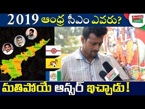 Who is Next CM in Andhra Pradesh 2019? | Public Survey On 2019 AP Elections | Tollywood Nagar