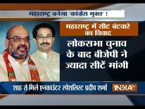 Amit Shah Meets Shiv Sena Chief Uddhav Thackeray In Mumbai - India TV