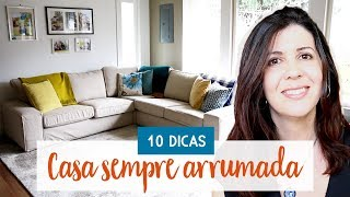 10 Dicas pra manter a casa sempre arrumada   Fly Lady  • Lu Azevedo