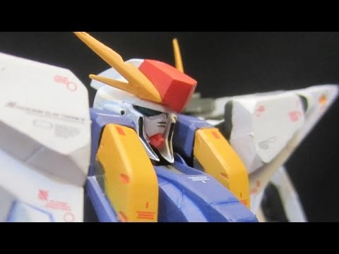 GFF Ξ / Penelope Gundam (Part 1: Unbox)  Xi Kusii Penerope Gundam Fix Figuration review