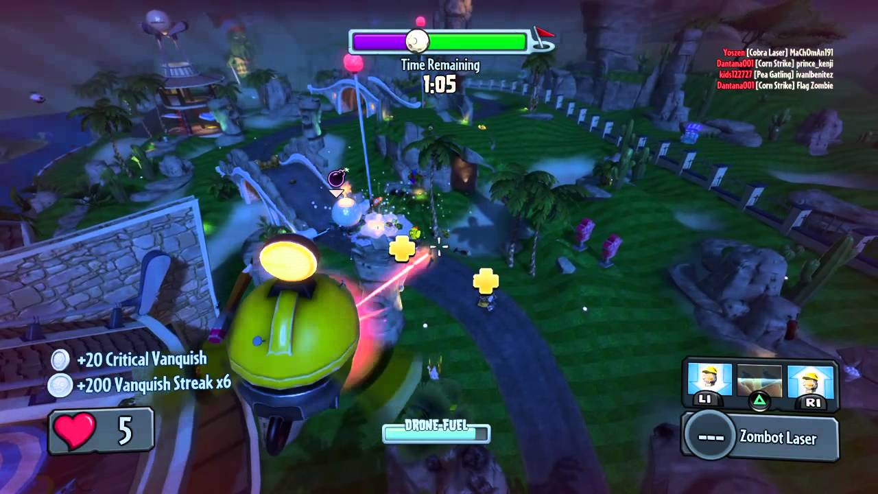 Plants Vs Zombies Garden Warfare Kacharpoxxl Youtube