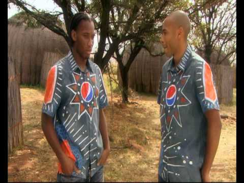 Thierry Henry Interviews Didier Drogba In Africa