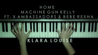 Download Lagu HOME | Machine Gun Kelly ft. X Ambassadors & Bebe Rexha Piano Cover Gratis STAFABAND