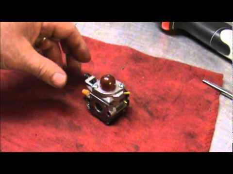 Weed Eaters, easy carburetor fix