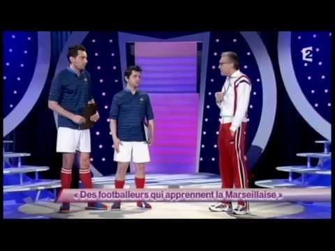 Laurent Ruquier [1] Des footballeurs qui apprennent la Marseillaise - ONDAR