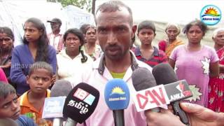 The expulsion of 10 families from Talavakkalai lintulaiyai