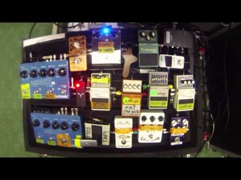 My 2014 Pedal Board : In-Depth (Tagalog-English)