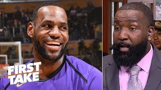 'Hell no' LeBron wouldn't have played with KD's injury according to Rich Paul – Perkins | First Take
