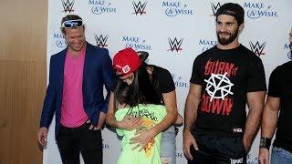 Superstars put smiles on Make-A-Wish kids' faces during SummerSlam Week
