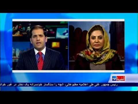 Semin Barakzai discusses violence against women on VOA Ashna
