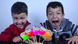 Fingers Family Kid Song Colorful Yogurt Cute rayane and kid