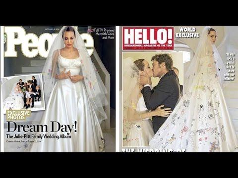 Las fotografías de la boda de Angelina Jolie y Brad Pitt / wedding Angelina Jolie and Brad Pitt