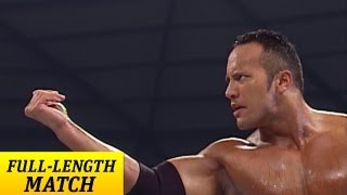 FULLLENGTH MATCH  SmackDown  The Rock vs Edge and
