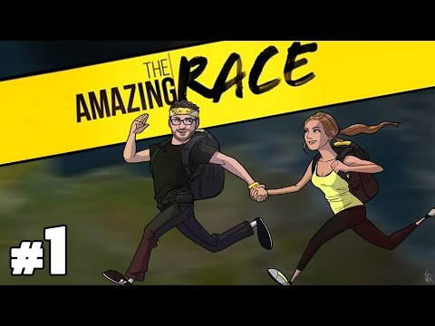 The Special Amazing Race Podcast with Burnie & Ashley #1