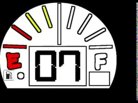 10 Minute Fuel Gauge Style Countdown Clock video