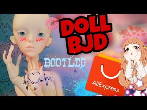 A review of the doll BJD Aliexpress / ball-jointed doll / unpacking a parcel with a doll from China