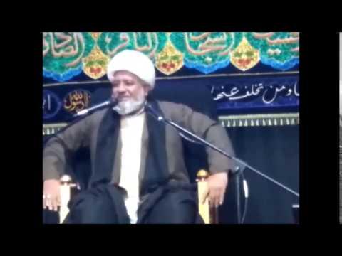 Maulana Afzal Hayderi 2nd Muharram Birmingham (UK)