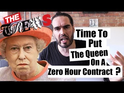 Time To Put The Queen On A Zero Hour Contract? Russell Brand The Trews (E288)
