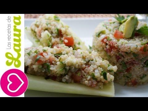 Tabule de Quinoa -Comida Saludable -Recetas Vegetarianas