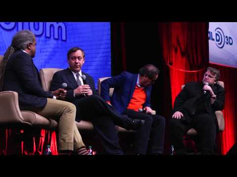 2013 CinemaCon Filmmakers Forum: Sam Raimi, Oliver Stone & Guillermo del Toro