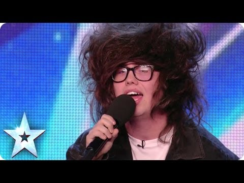 Nick Celino Gives A Hair-raising Performance Of Wrecking Ball | Britain's Got More Talent 2014 video
