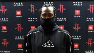 James Harden Postgame Interview | Rocket vs Kings | August 9, 2020