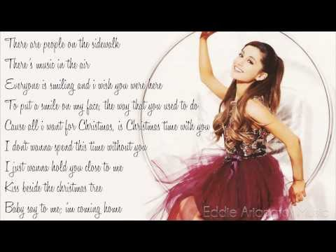 Ariana Grande - I Don't Want To Be Alone For Christmas (Lyrics) ♡
