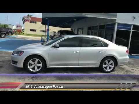 2013 Volkswagen Passat Hollywood FL 2395AT