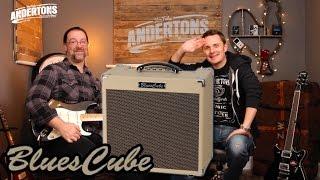 Roland Blues Cube Hot Guitar Amp Demo!