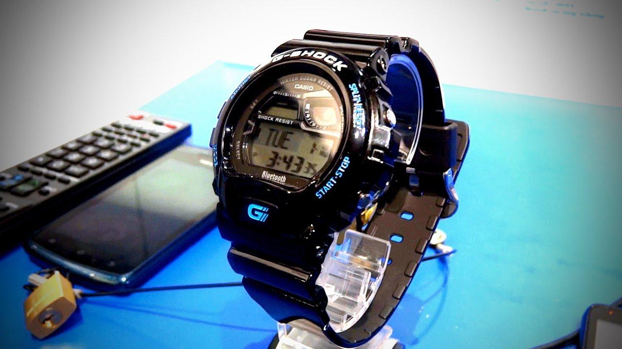 Casio G Shock Gb 6900 Bluetooth Smart Watch Ces 2012 Youtube
