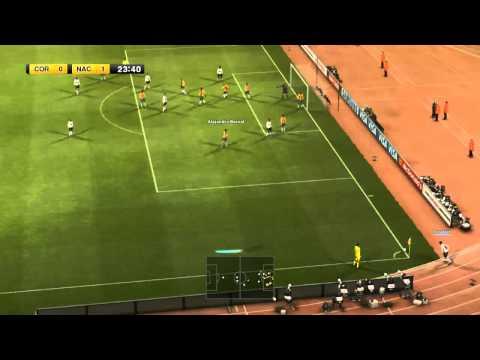 Libertadores e aqui Pes 2012 - Escolhendo o time, Jogando a pre-libertadores
