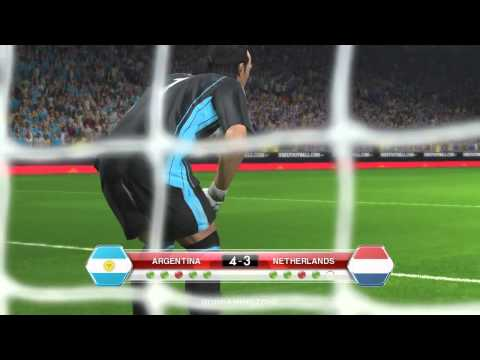 ARGENTINA vs NETHERLANDS PENALTY SHOOTOUT PES 2014