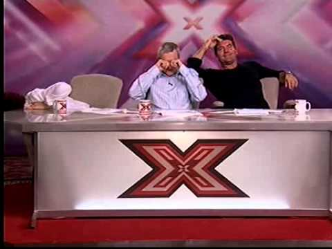 X Factor Audition - Penelope - Sharon Osbourne and Louis Walsh Can't Stop Laughing
