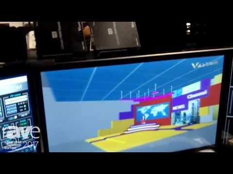 ISE 2017: DK Vascom Features 3D Virtual Studio and Audio Mixer